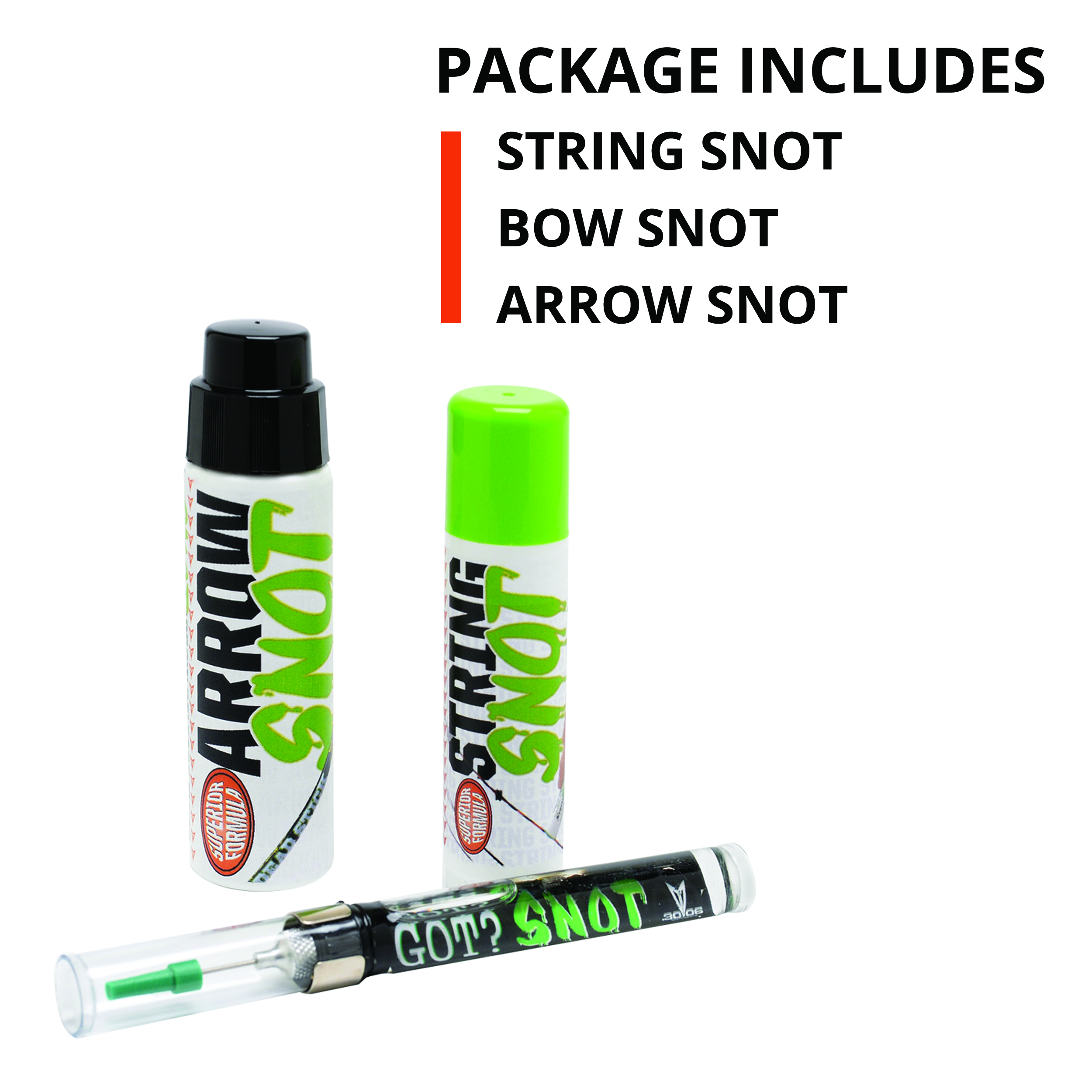Authorized Dealer 30-06 OUTDOORS Compound Bow SNOT Combo Pack CS3P-1