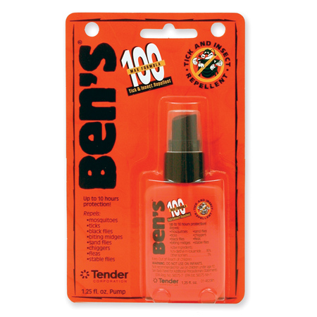Bens 100 Tick and Insect Repellent Pump 1.25 oz