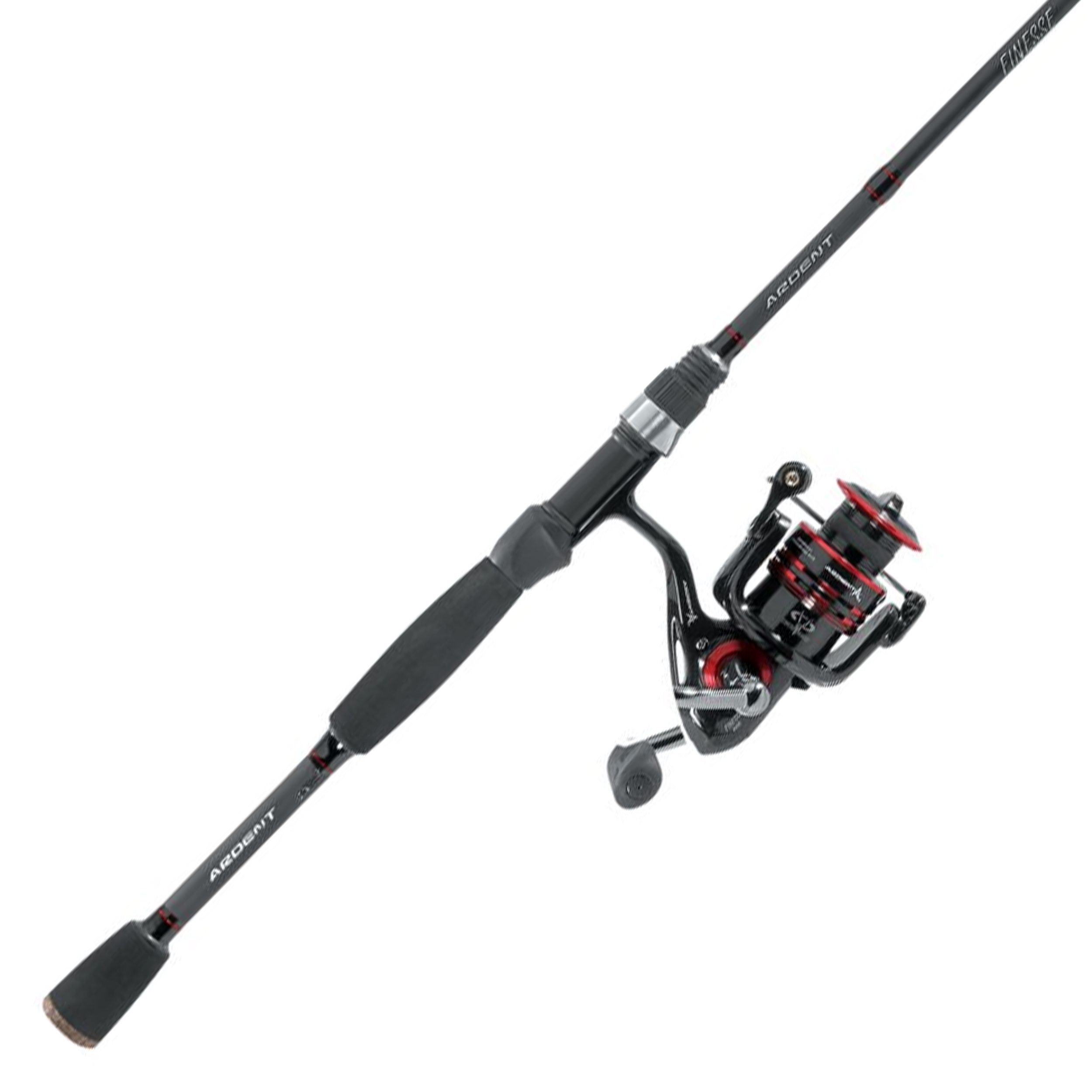 Ardent Finesse Fishing Combo, 2 Piece Rod with Spinning Reel