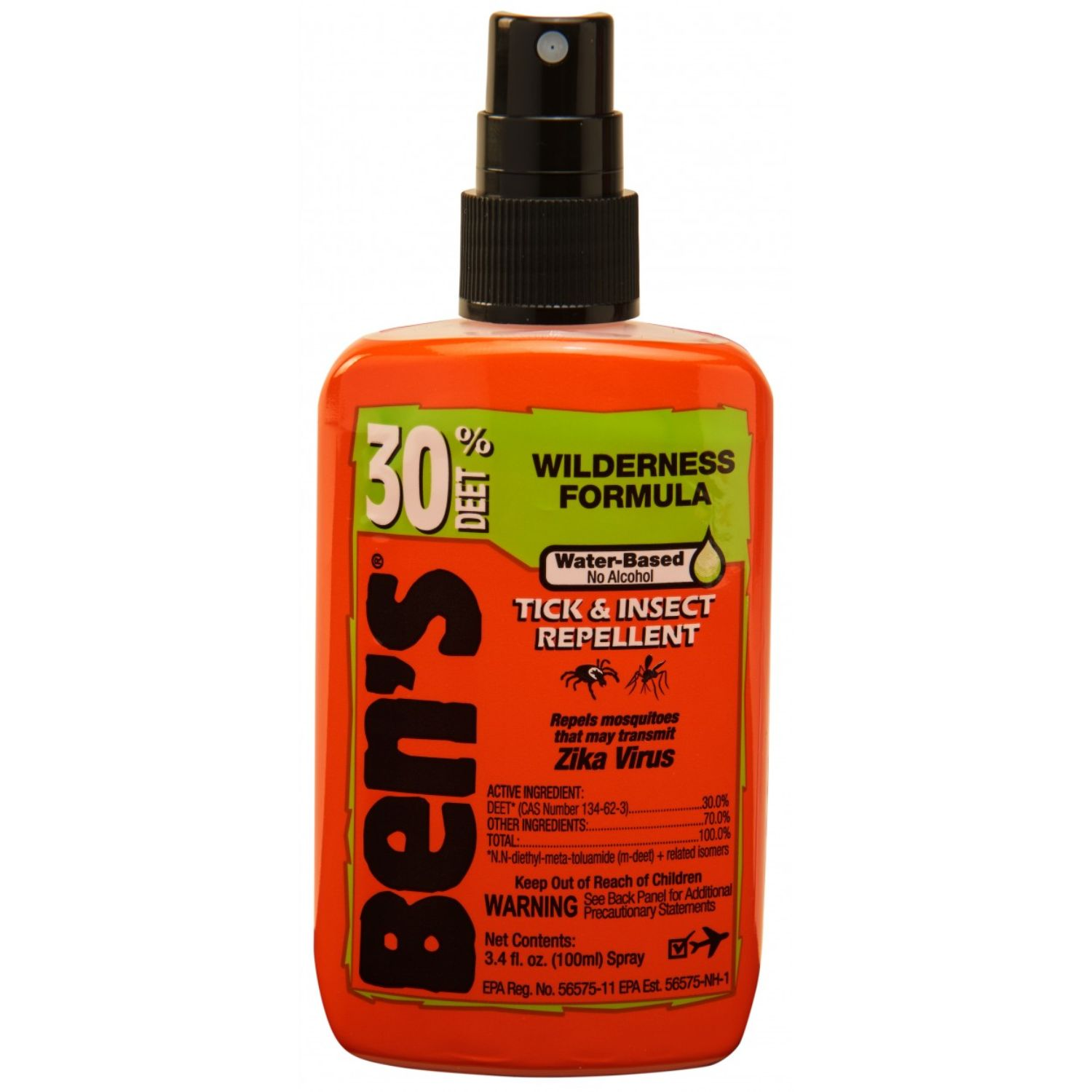 Bens 30 Tick and Insect Repellent Pump 3.4 oz