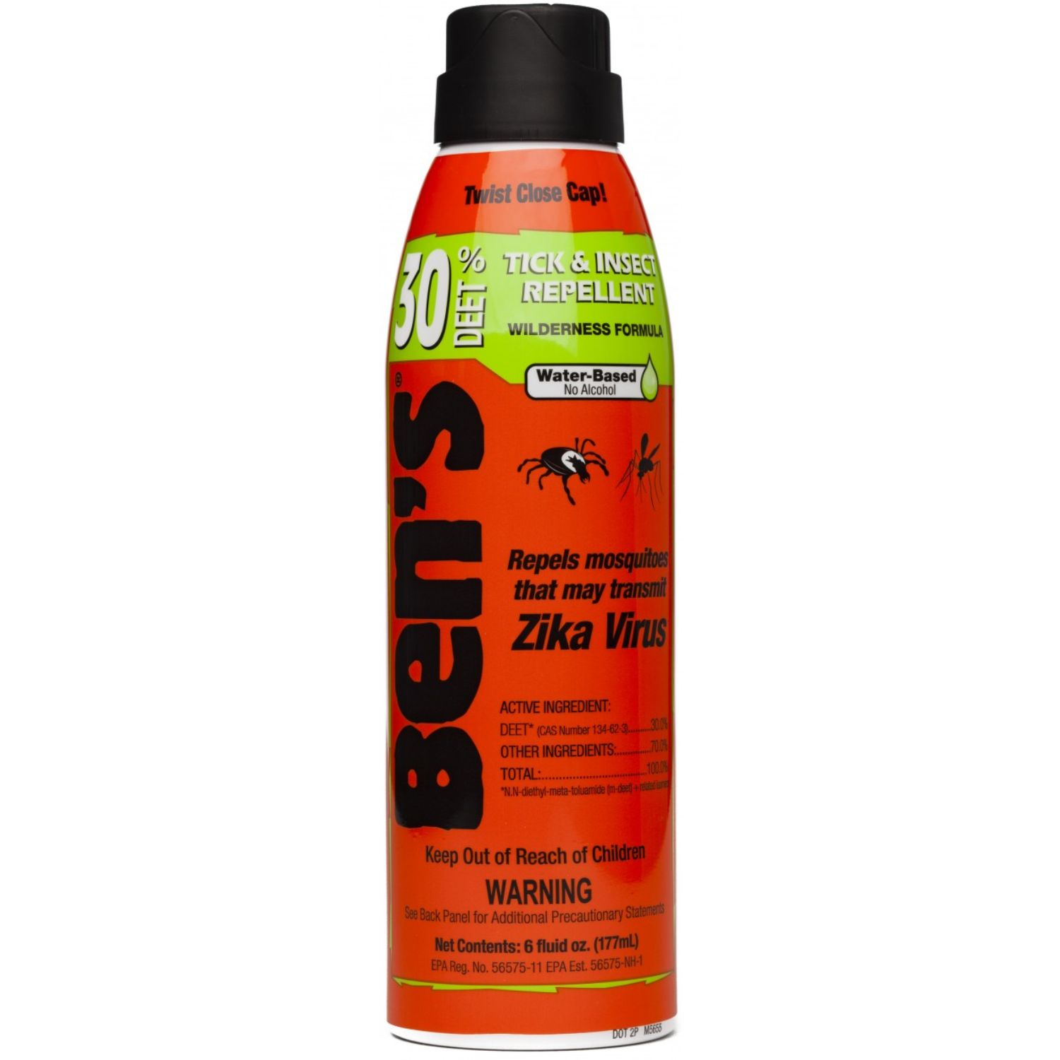 Bens 30 Tick and Insect Repellent Eco Spray 6 oz
