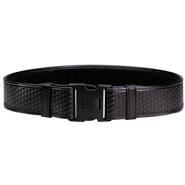 Bianchi  Duty Belt Basket Weave Black Finish Medium 34-40