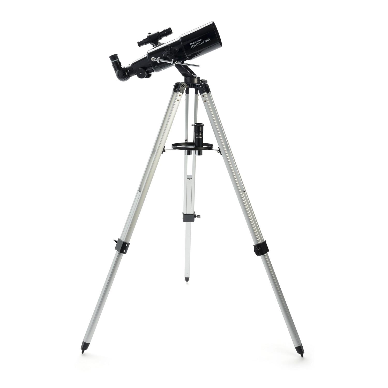Celestron PowerSeeker 80AZS Telescope - Black