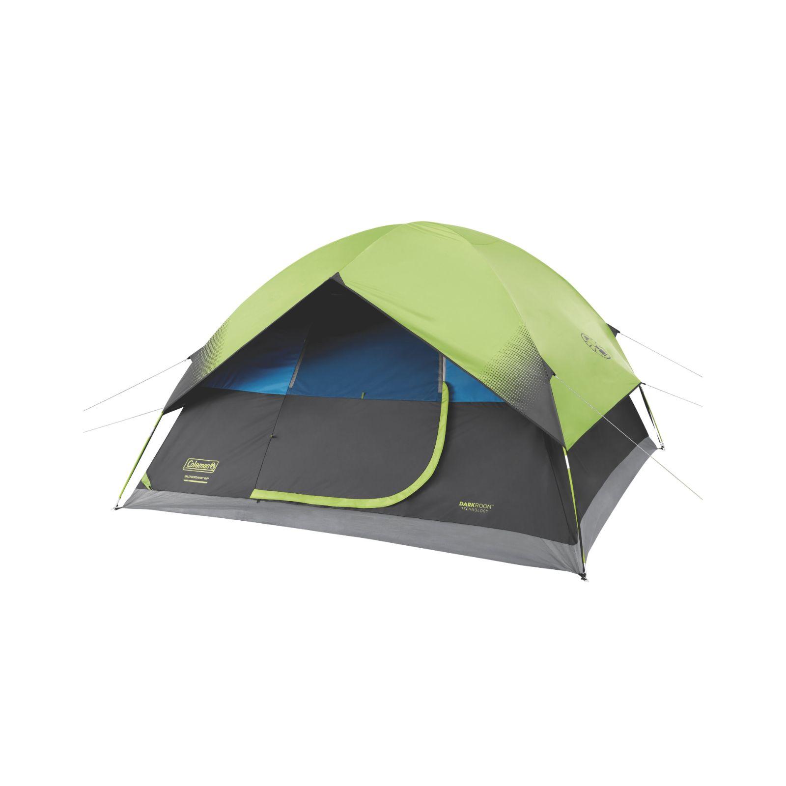 Coleman Tent 6P Darkroom w Screen Room C001