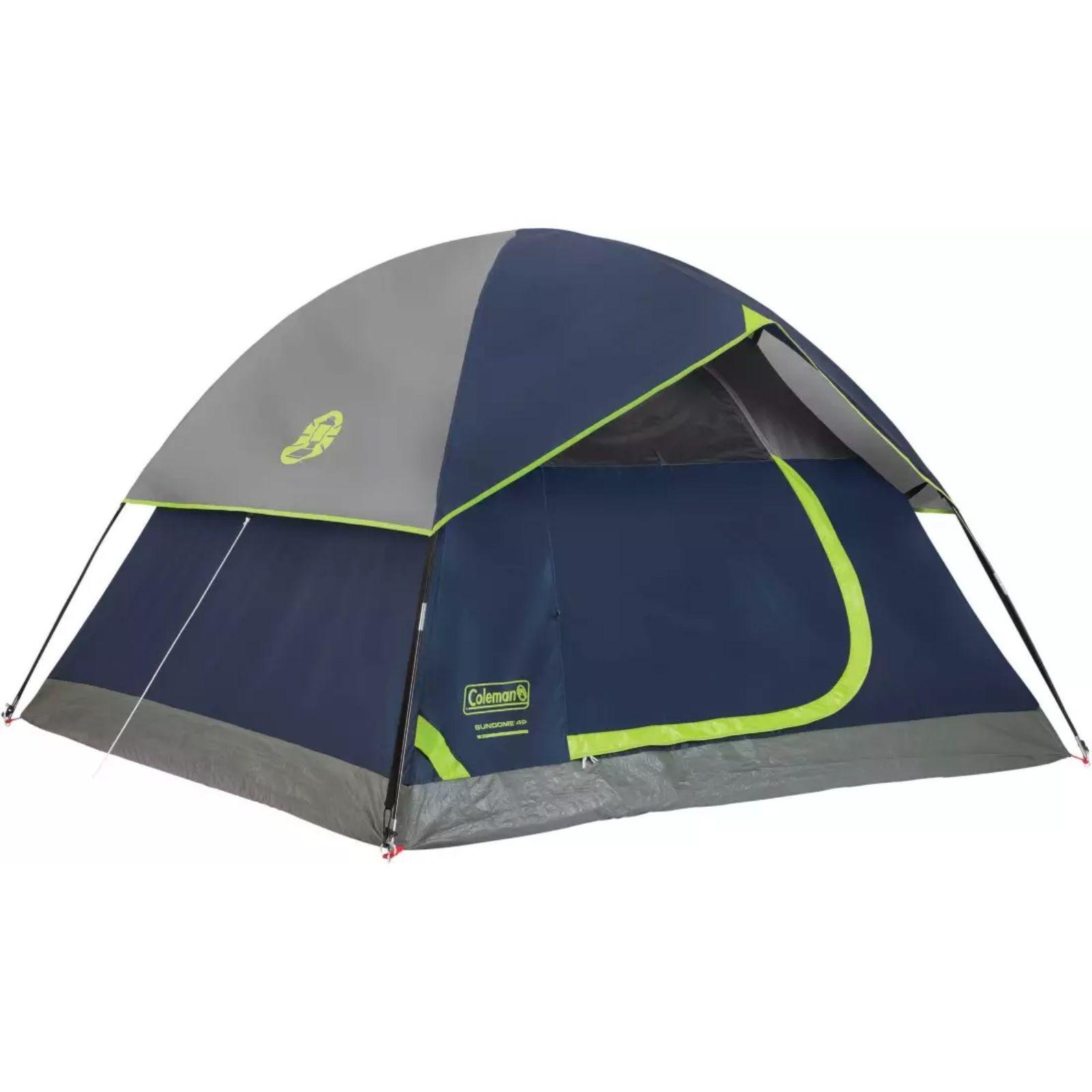 Coleman Tent 10X10 Sundome 6P Navy Grey C002