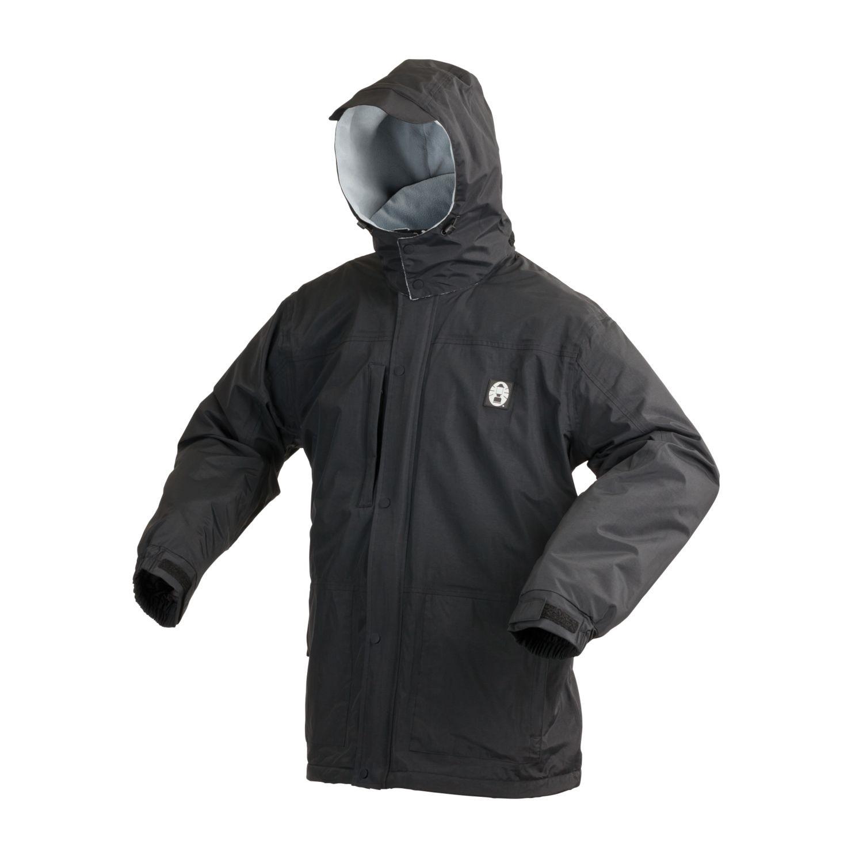 Coleman Apparel Fleece Lined Black Jacket Small