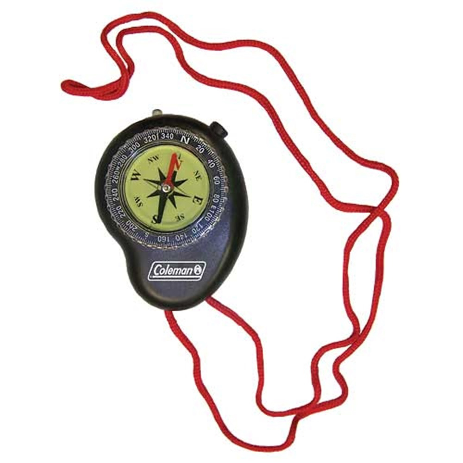 Coleman Compass With LED Light Black/Red 2000016467