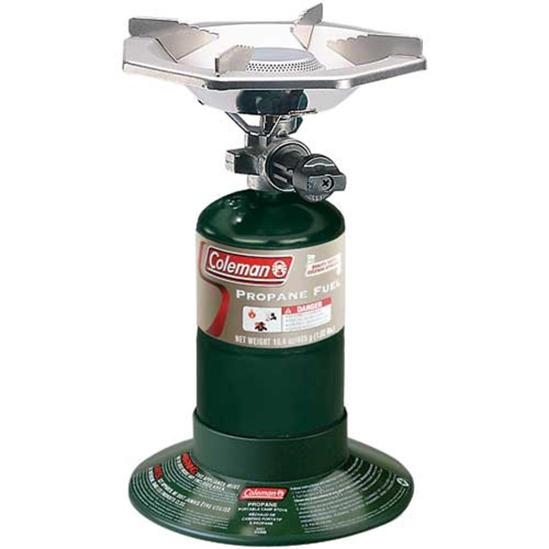 Coleman 1 Burner Bottle Top Stove Green