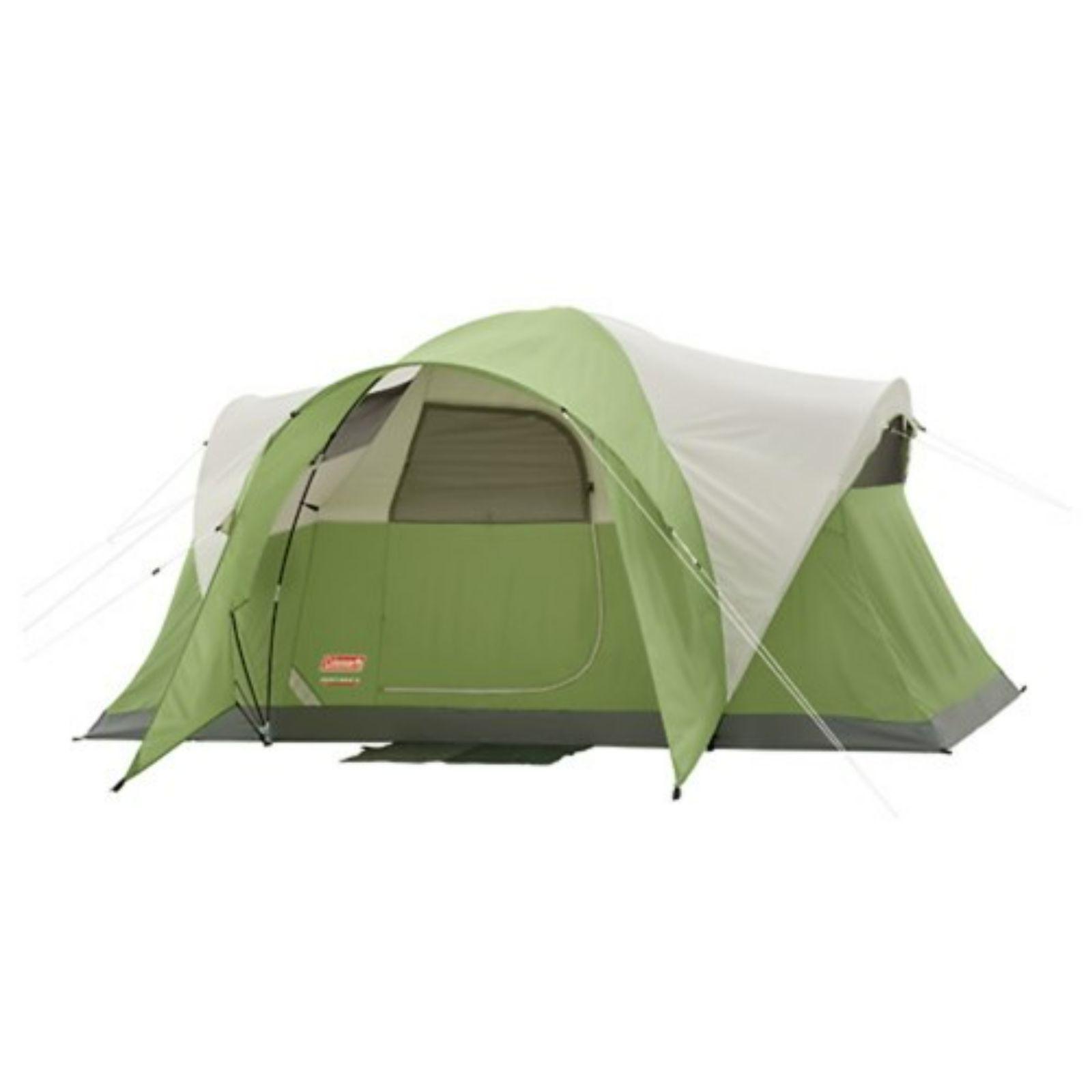 Coleman Montana 6 Tent 12x7 Foot Green Tan Grey