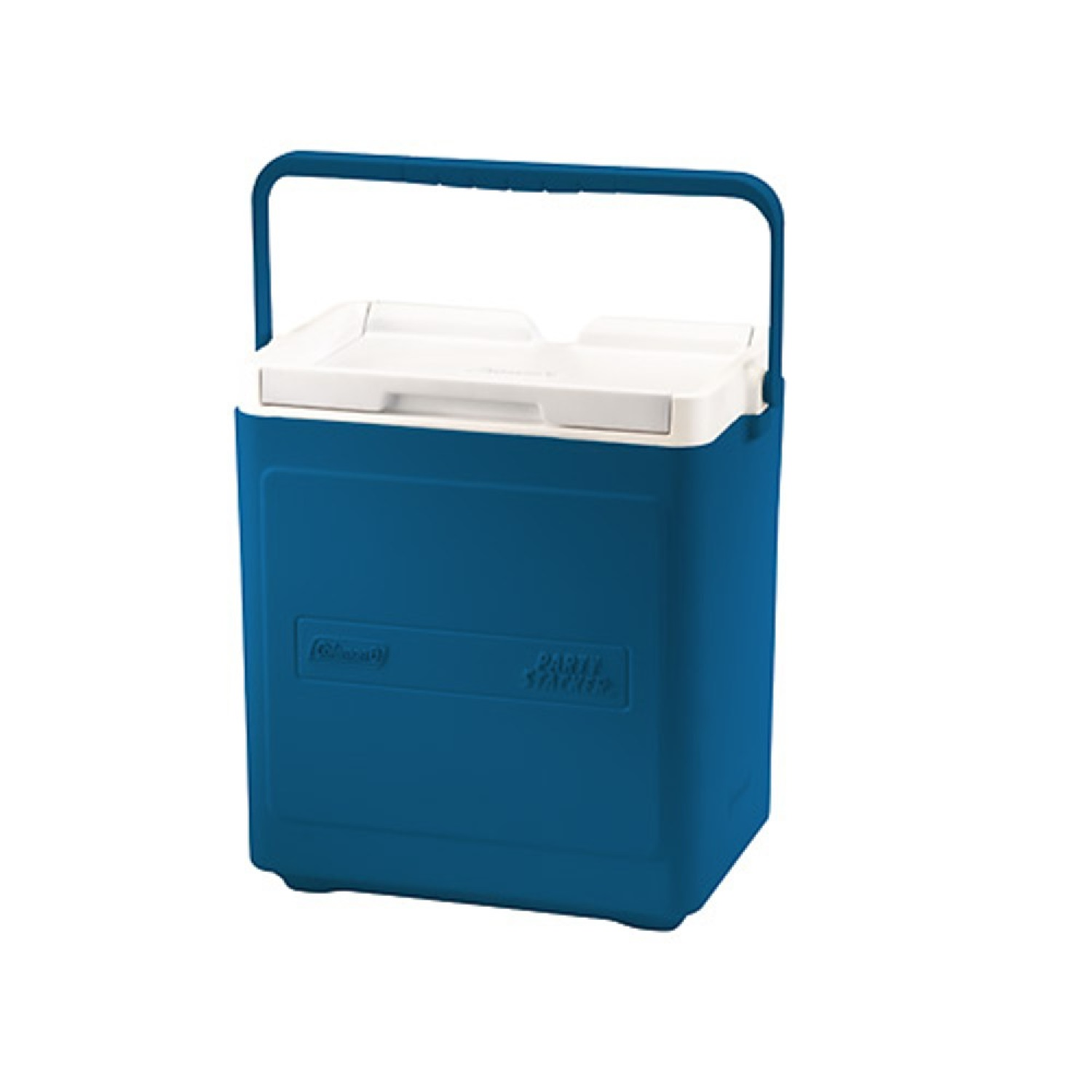 Coleman 20 Can Party Stacker Cooler Blue