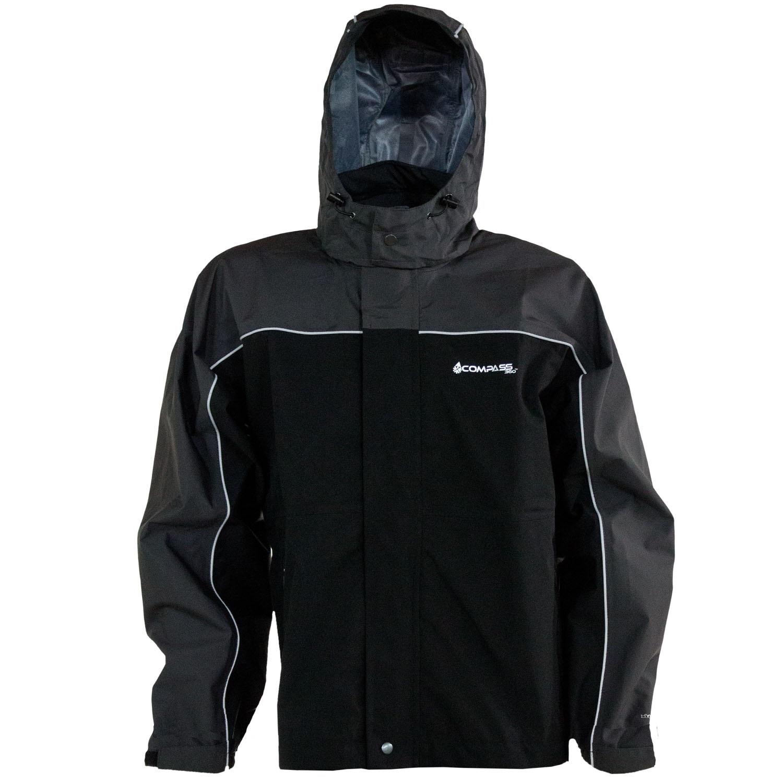 Compass 360 RoadForce Reflective Riding Jacket-Slate/Blk-MD