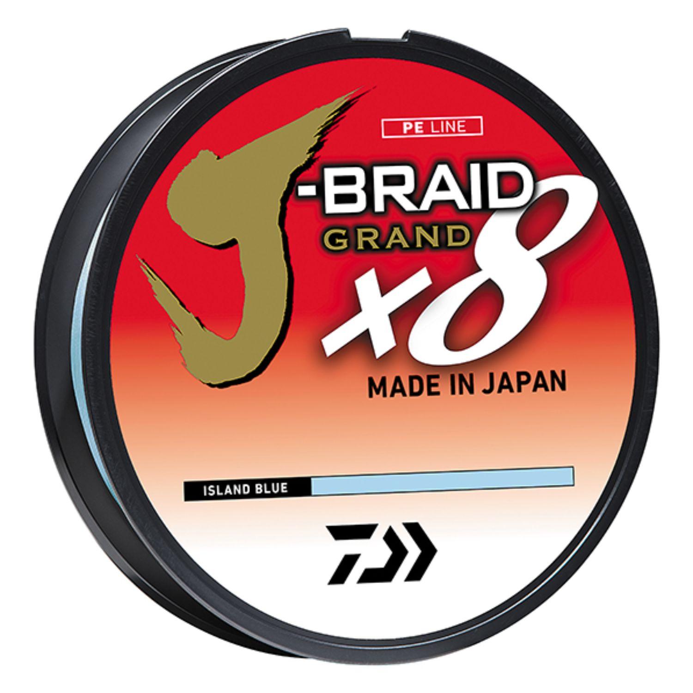 Daiwa JB4U40-300IB J-Braid X4 300 Yard Spool 40LB Test Island Blue