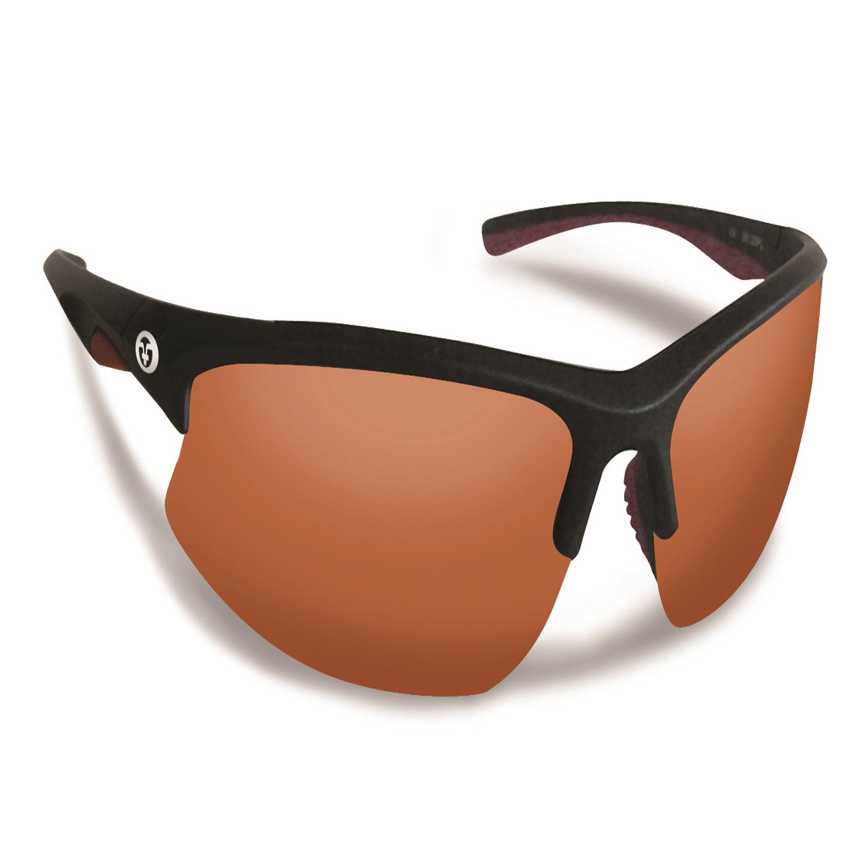 Flying Fisherman Drift Matte Black Frame w/Copper Sunglasses