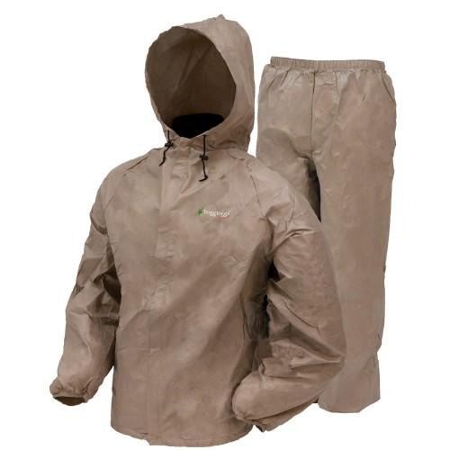 Frogg Toggs Ultra Lite Rain Suit Khaki XLarge