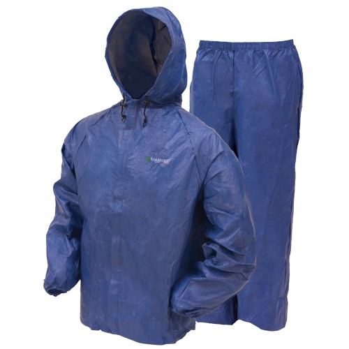 Frogg Toggs Ultra Lite Rain Suit Blue Small
