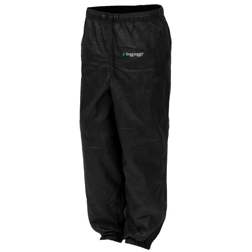 Frogg Toggs Pro Action Pant Ladies Black Large