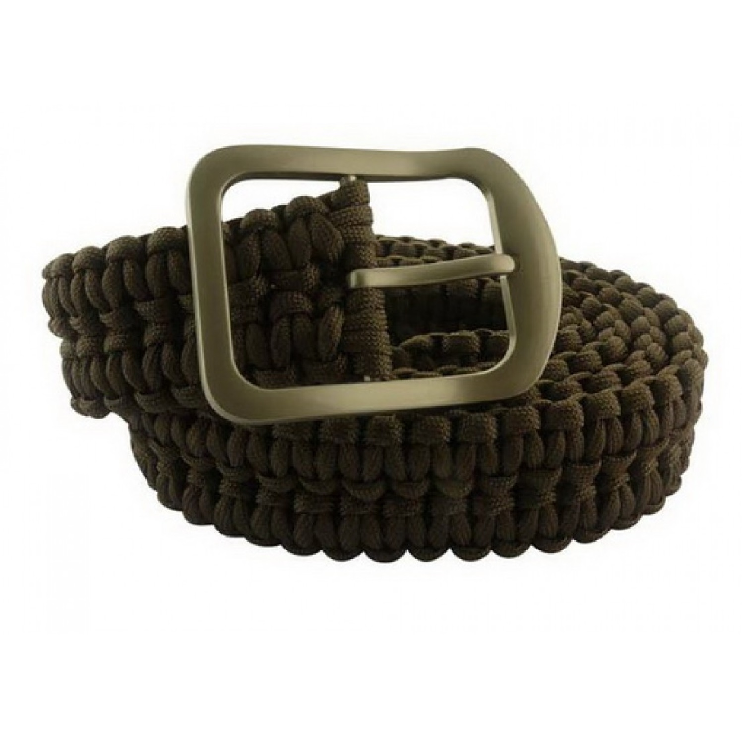 Impulse Product Paracord Belt with Steel Buckle Desert Brown