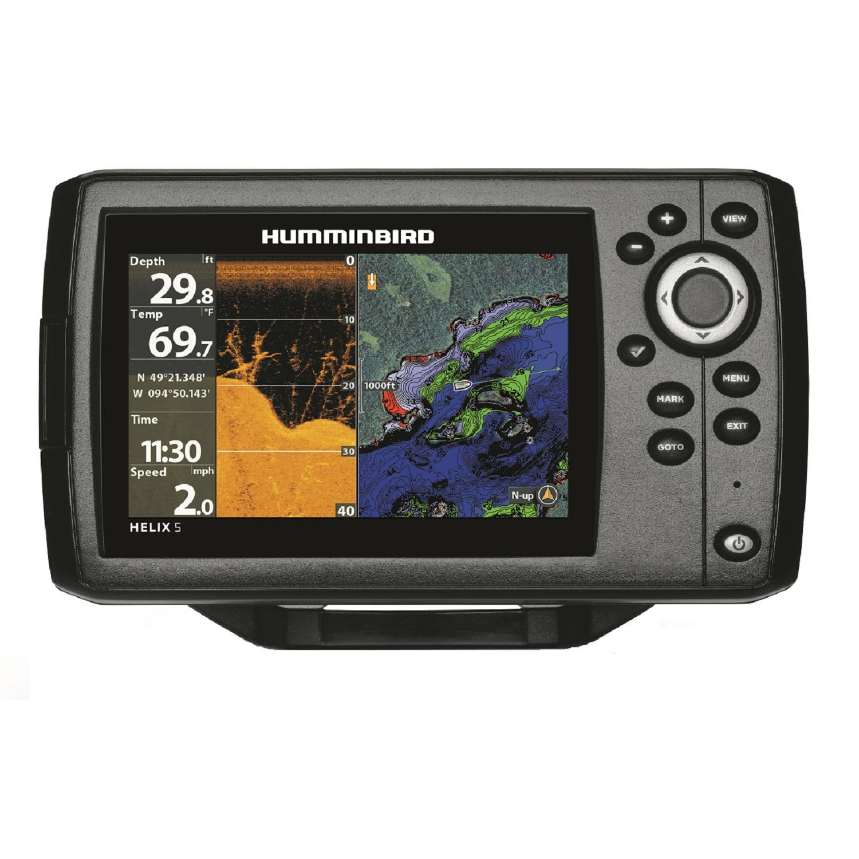 Humminbird HELIX 5 Chirp DI GPS G2 Fishfinder