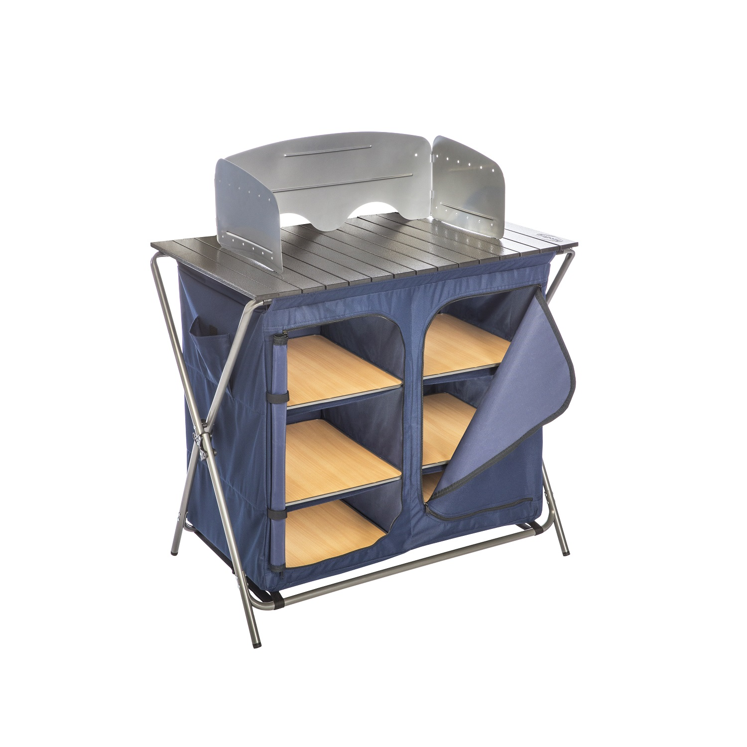 Kamp-Rite Kwik Pantry with Cook Table and Carry Bag