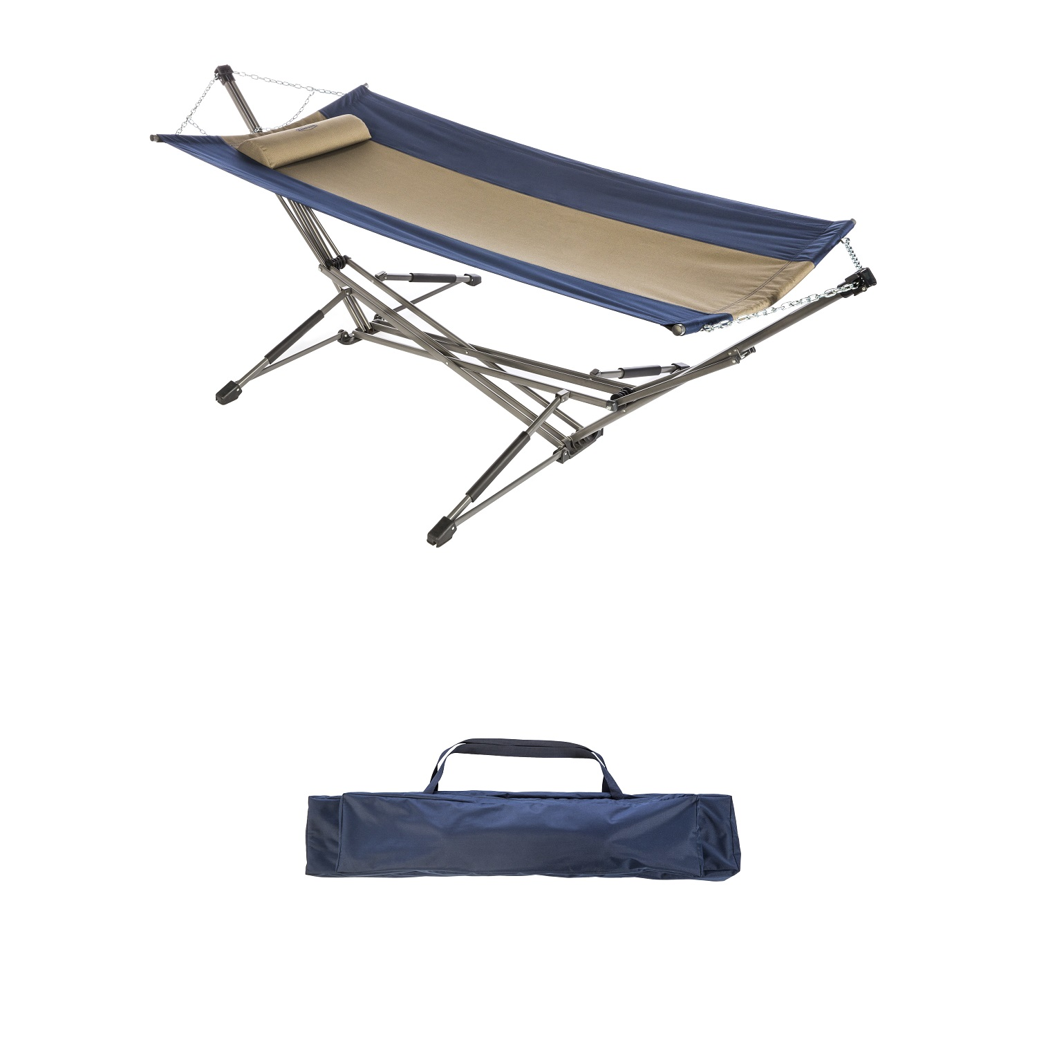 Kamp-Rite Kwik Set Hammock with Carry Bag