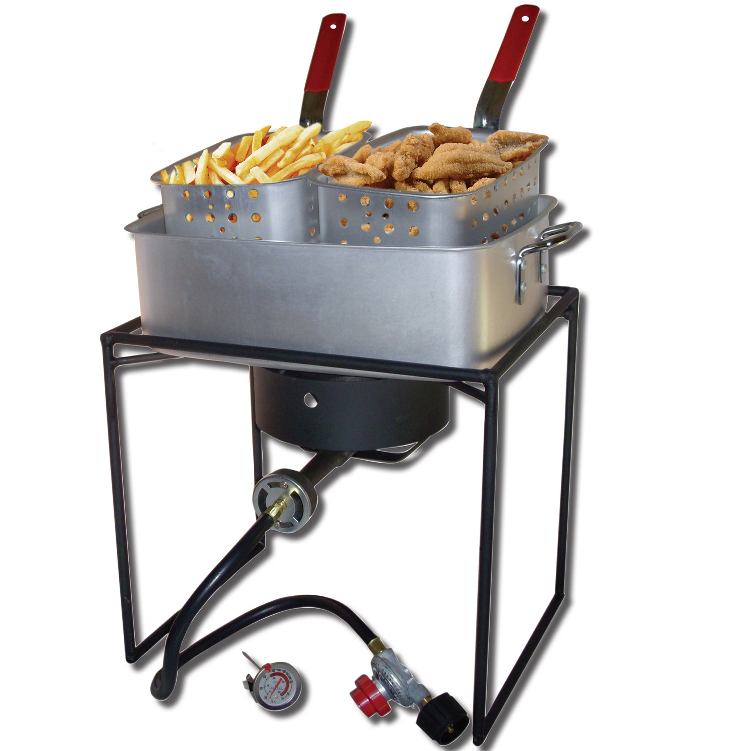 King Kooker  1618-16in Rectangular Cooker with Pan Package