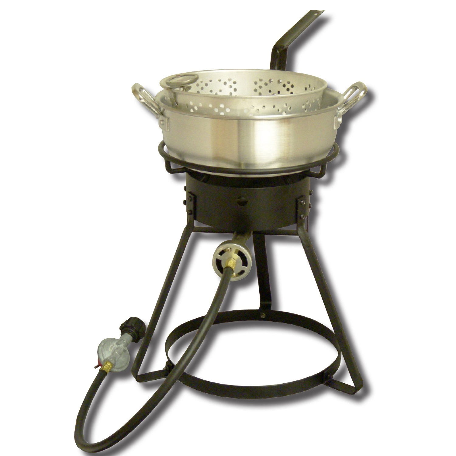 King Kooker  1642-16in Bolt Together Cooker with Almnm Pan