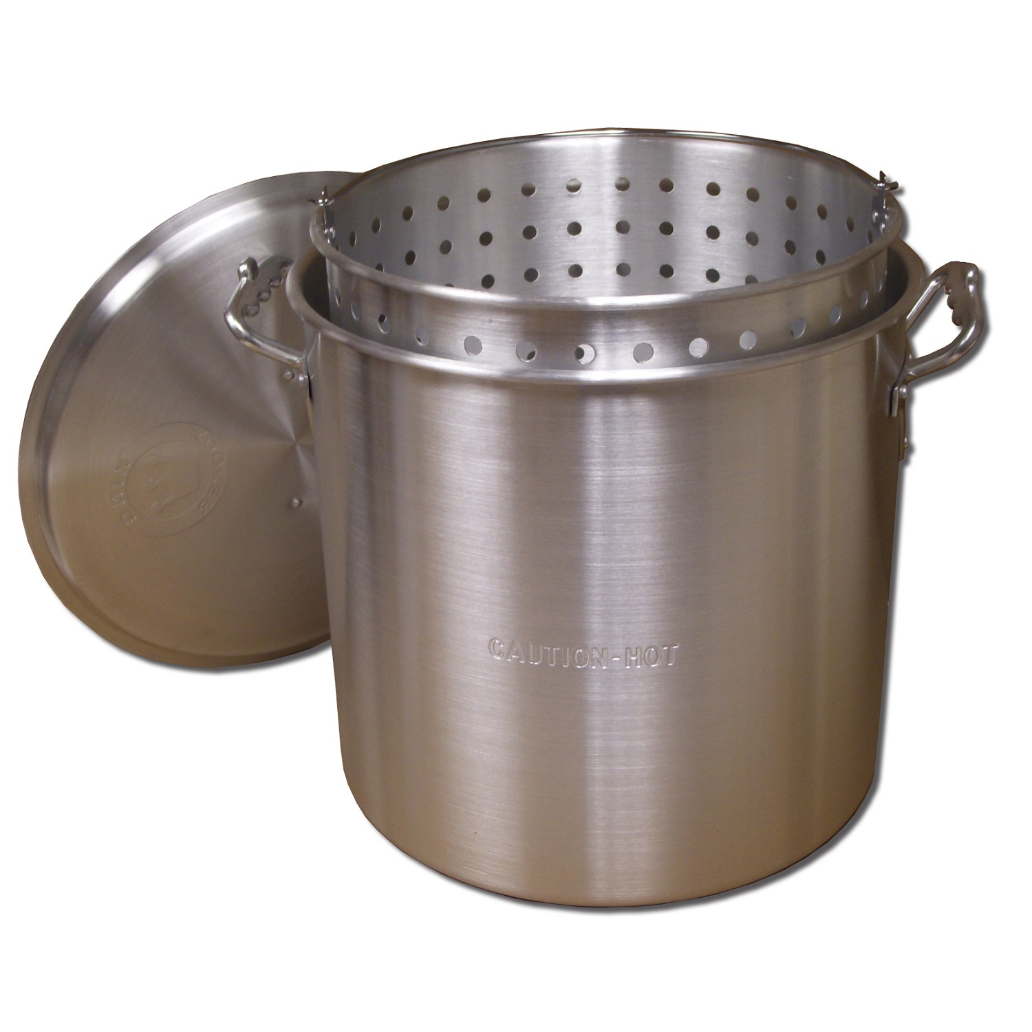 King Kooker  KK60-60 Qt. Aluminum Pot with Basket and Lid