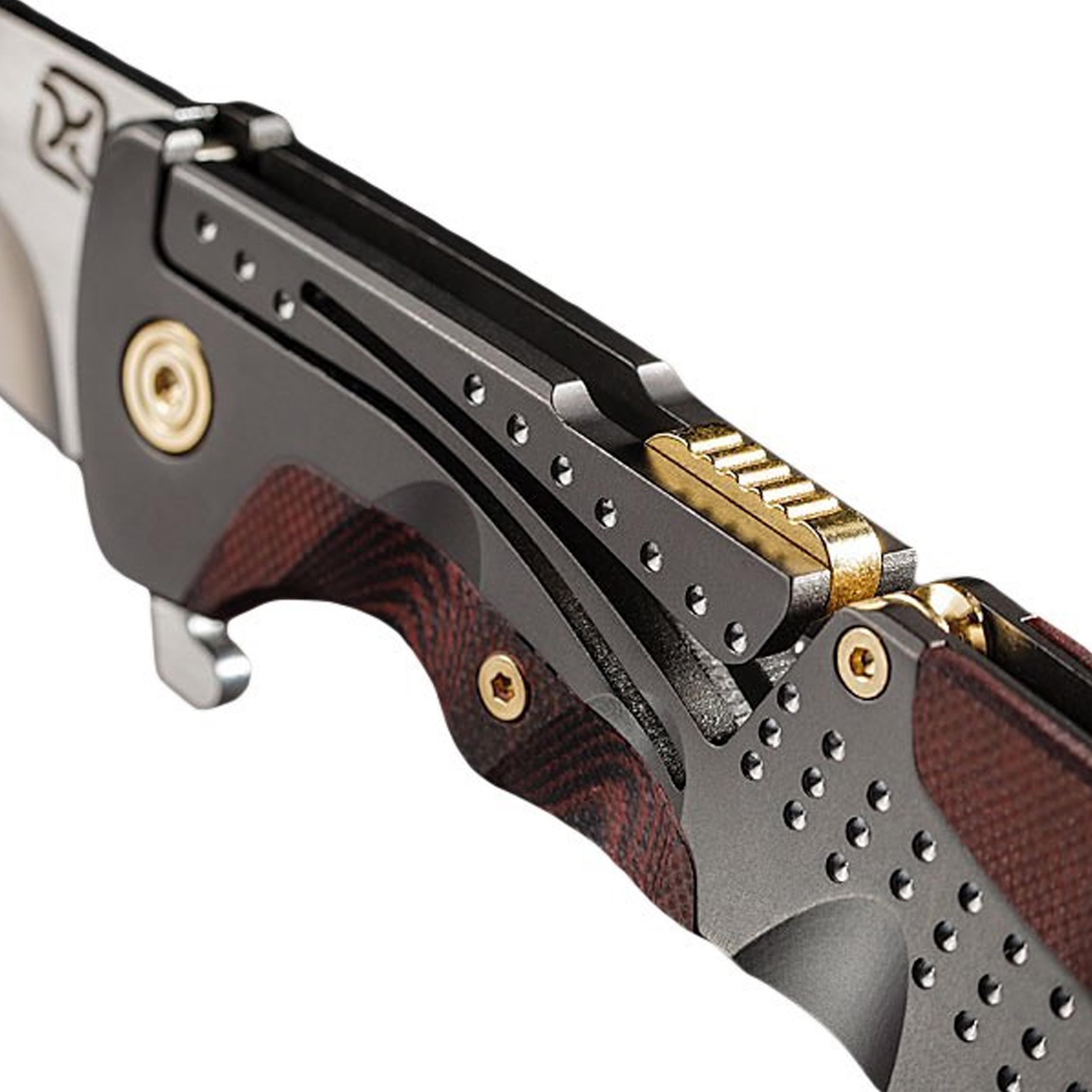 Klecker-Knives-Cordovan-Lite-Folding-Knife-2-88-034-Blade-Stainless-Steel thumbnail 4