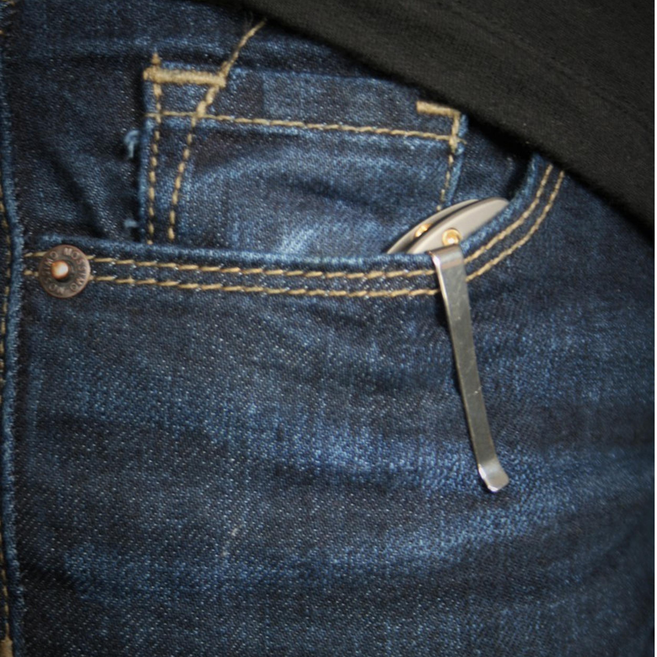 Klecker-Knives-Cordovan-Lite-Folding-Knife-2-88-034-Blade-Stainless-Steel thumbnail 5