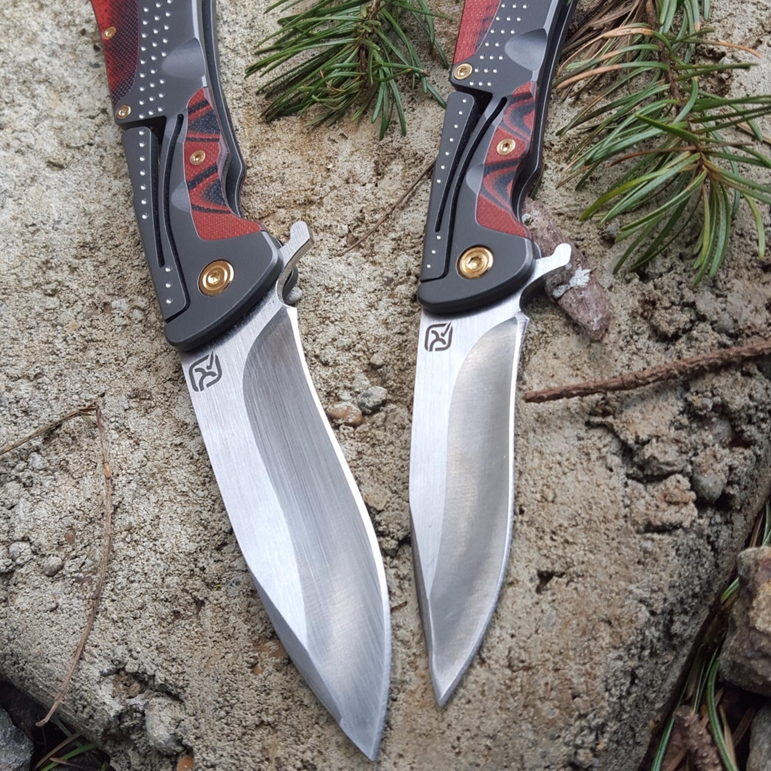 Klecker-Knives-Cordovan-Lite-Folding-Knife-2-88-034-Blade-Stainless-Steel thumbnail 6