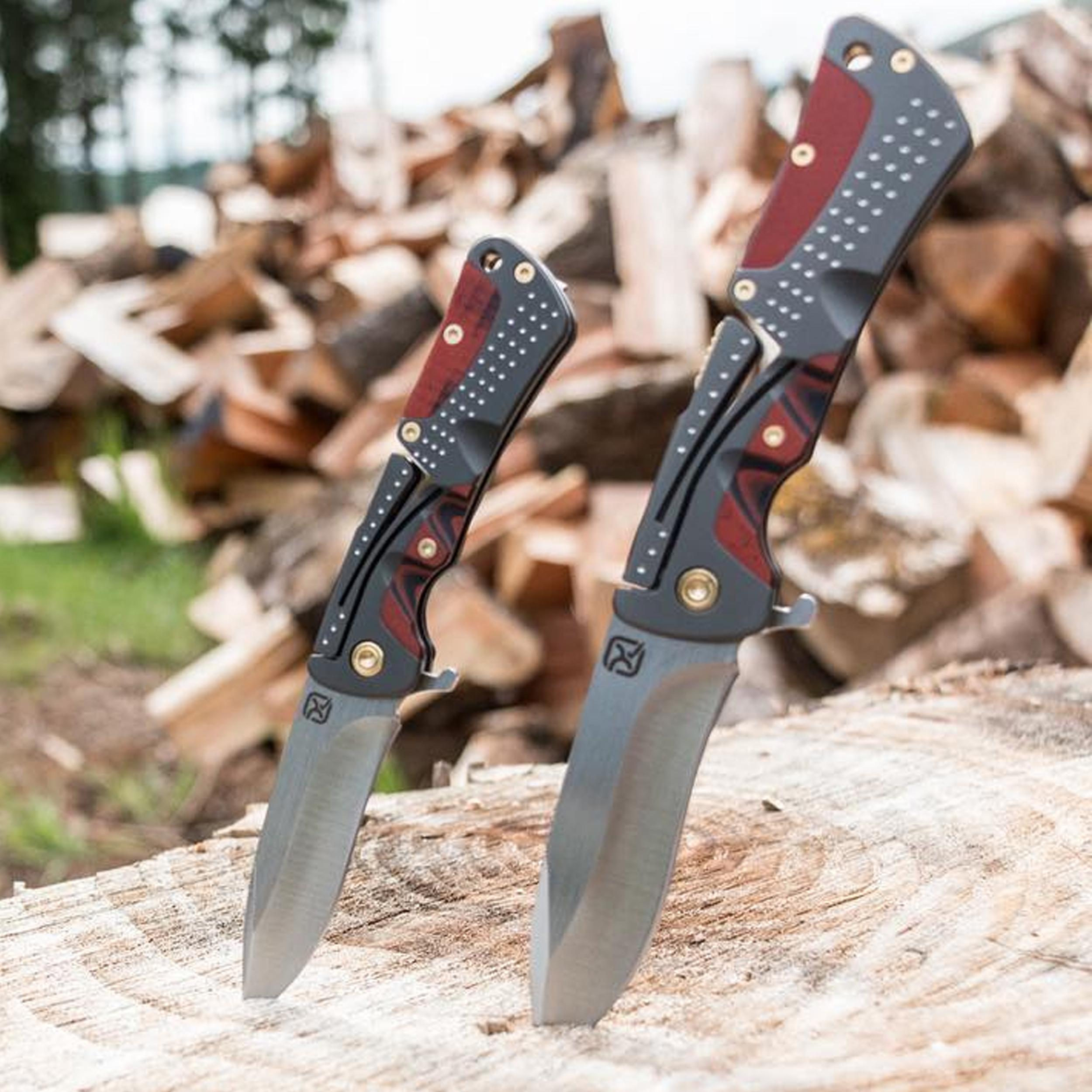 Klecker-Knives-Cordovan-Lite-Folding-Knife-2-88-034-Blade-Stainless-Steel thumbnail 7