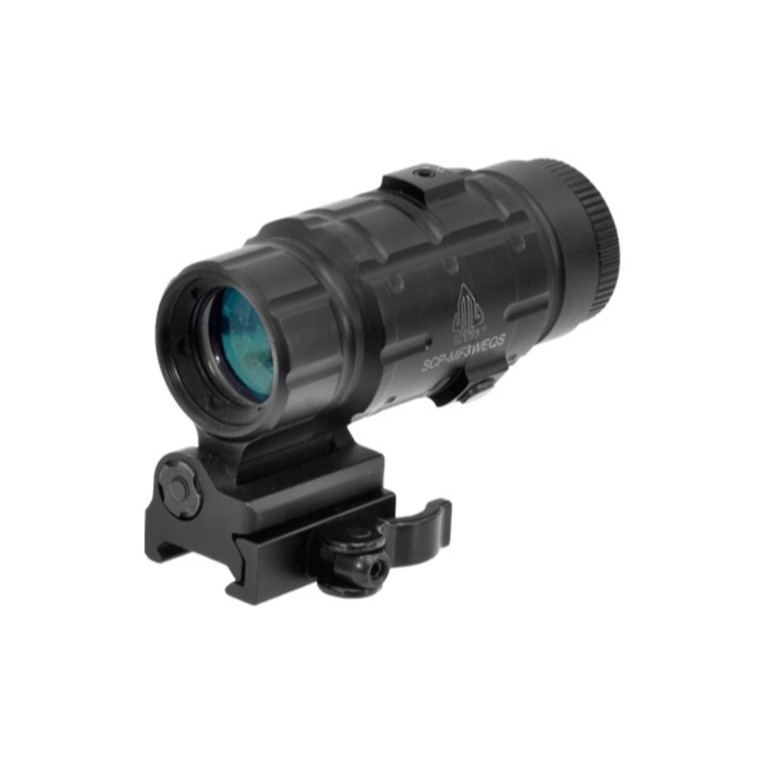 Leapers UTG 3X Mag w Flip-to-side QD Mount w E Adjustable
