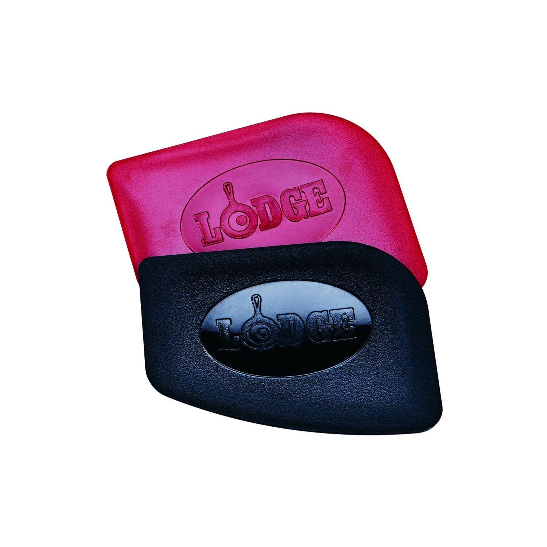 Lodge SCRAPERPK Set of 2 Pan Scrapers 1 red and 1 black