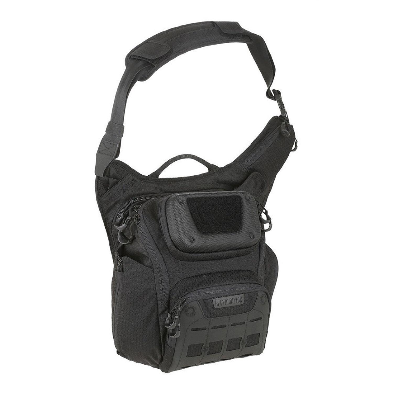 Maxpedition Wolfspur Crossbody Shoulder Bag 11L Black