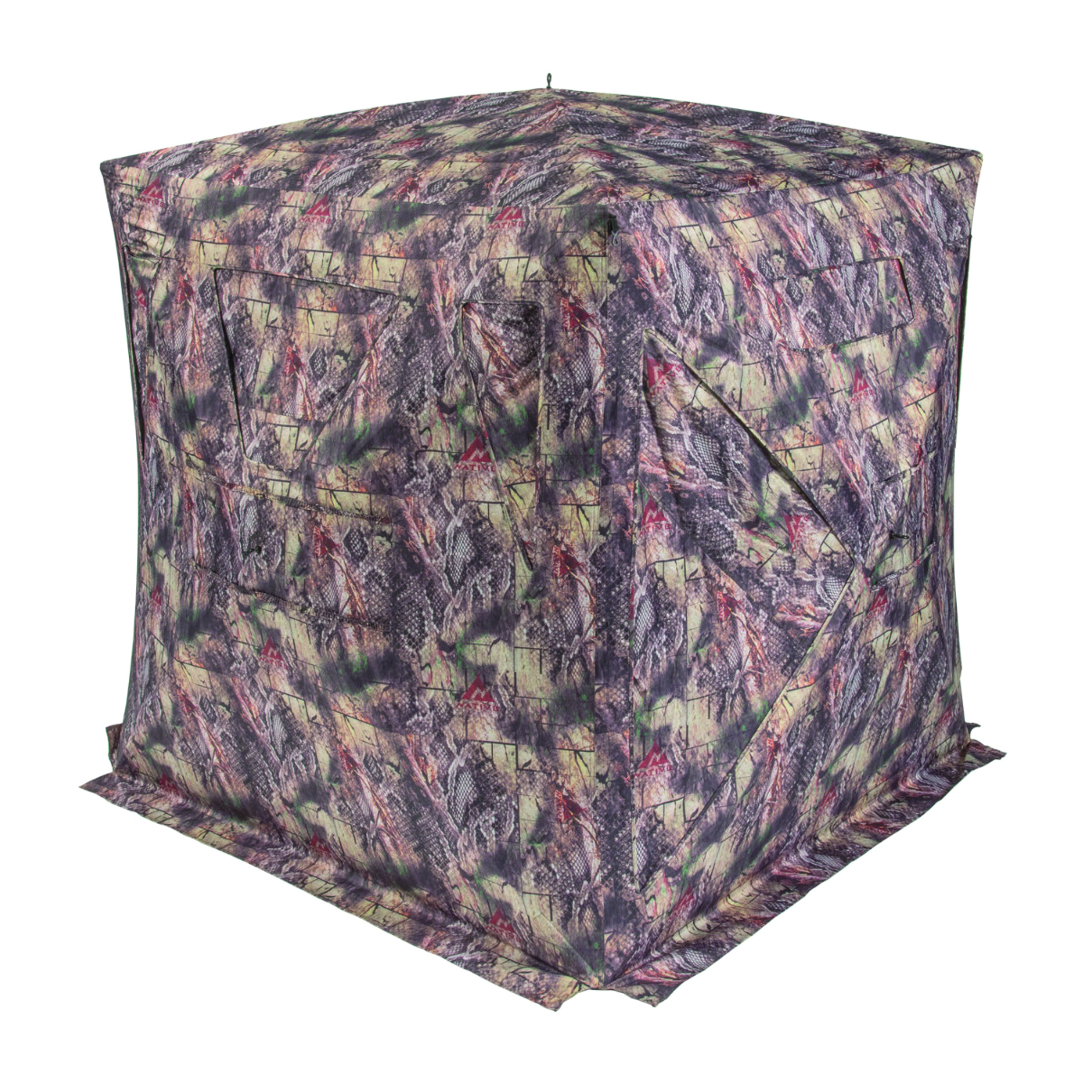 Native Ground Blinds Seminole 2 to 3 Person Ground Blind, Dirt Road Camo