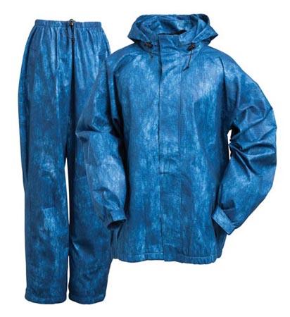 Onyx Force Field Tri-Laminate Rainsuit Blue Small