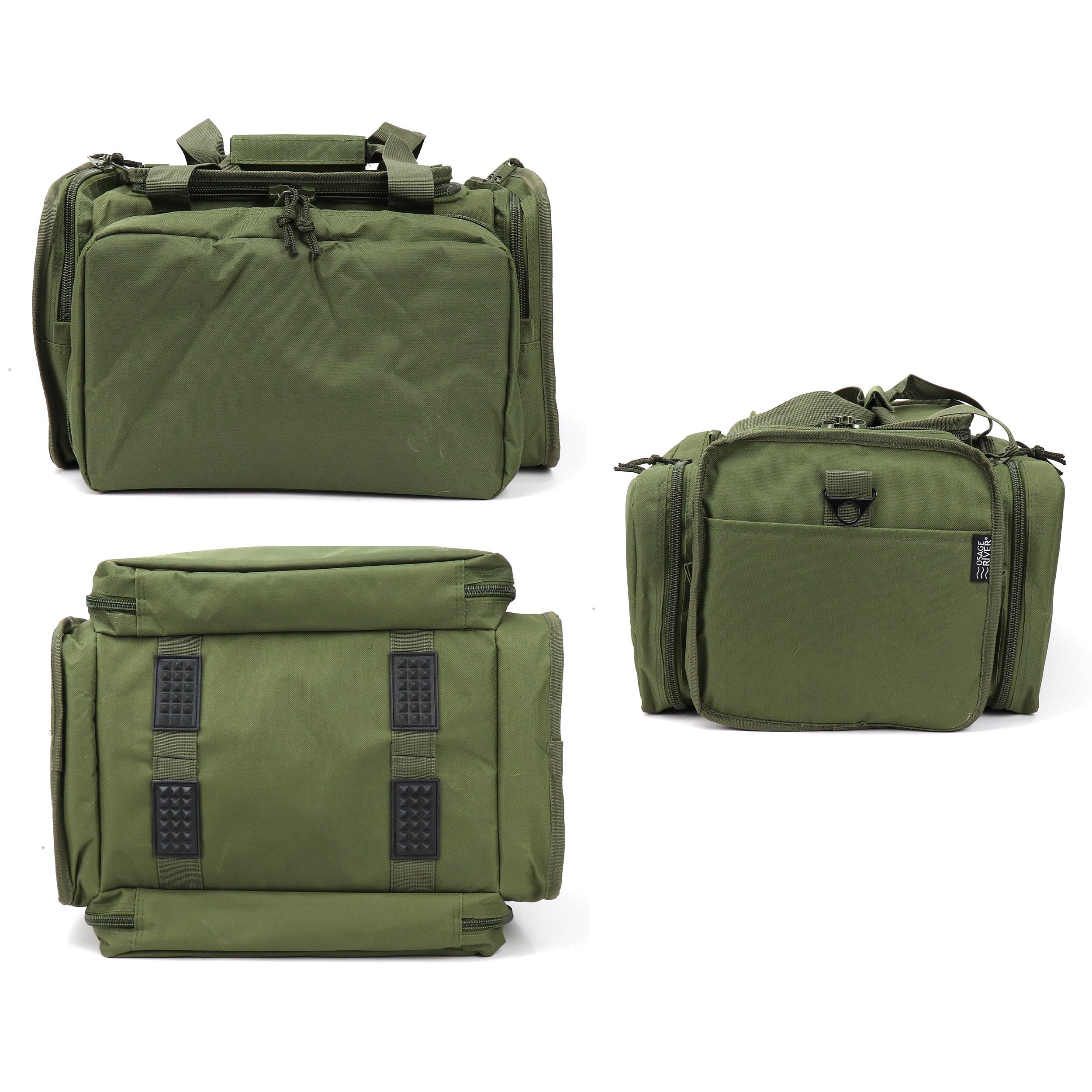 Osage River Tactical Range Bag for Handguns and Hunting Travel Duffel