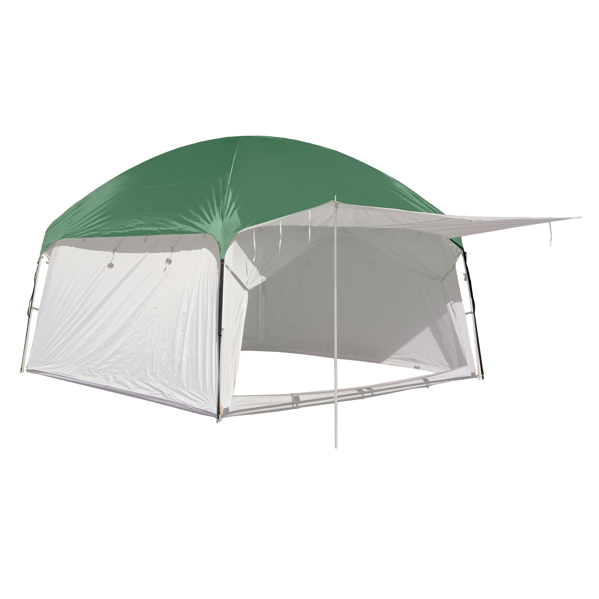 PahaQue Screen Room Rainfly 10x10-Green