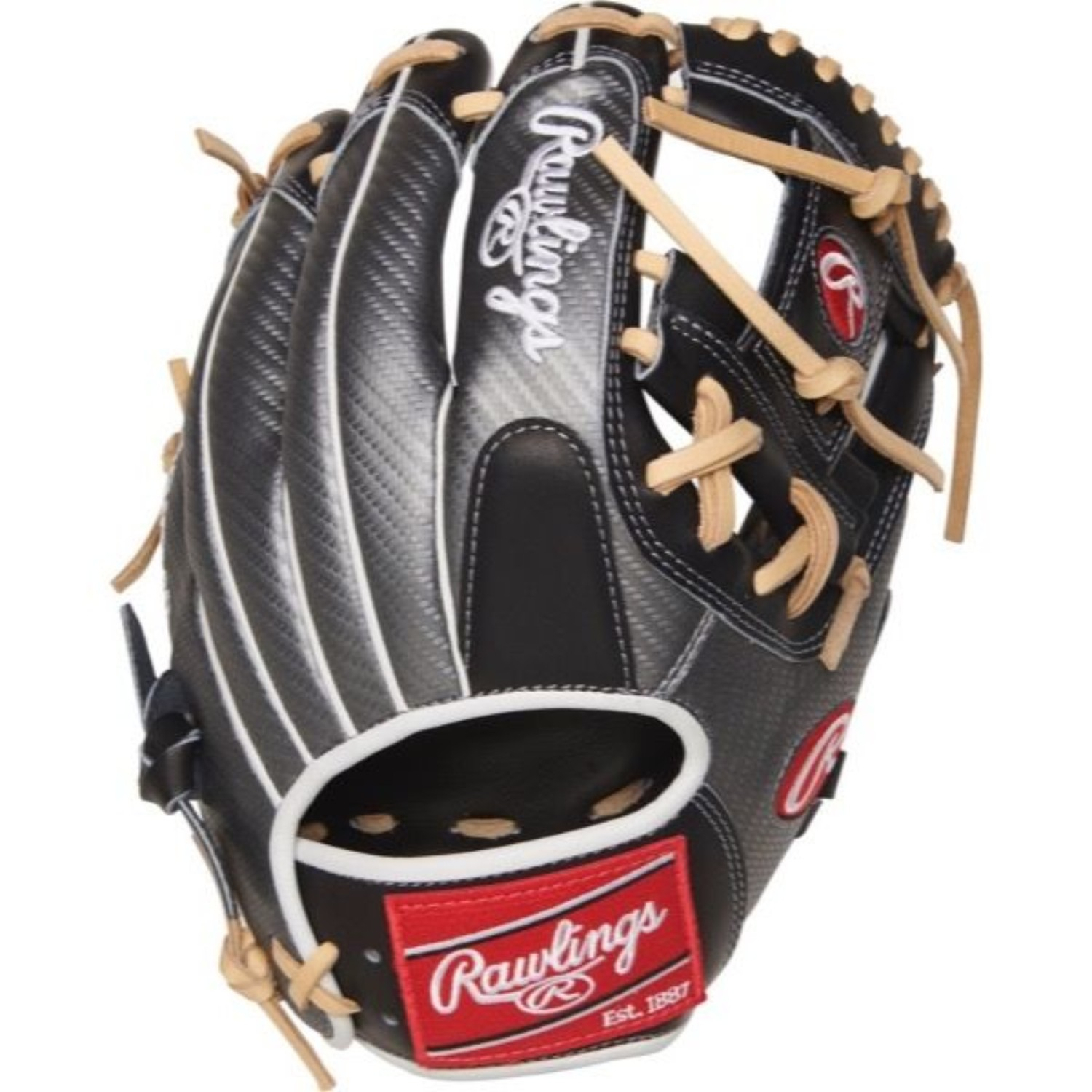 "Rawlings PRO204-2BCF Heart of the Hide Hyper Shell 11.5/"" 2b Glove RH"
