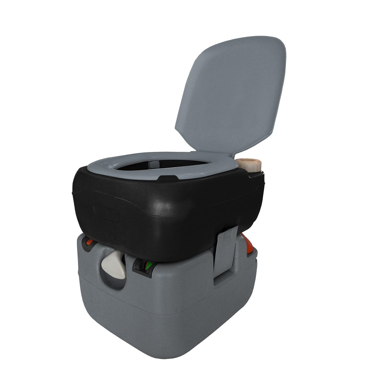 Reliance Portable Toilet 4822e  Electric Flush  6 Gallon