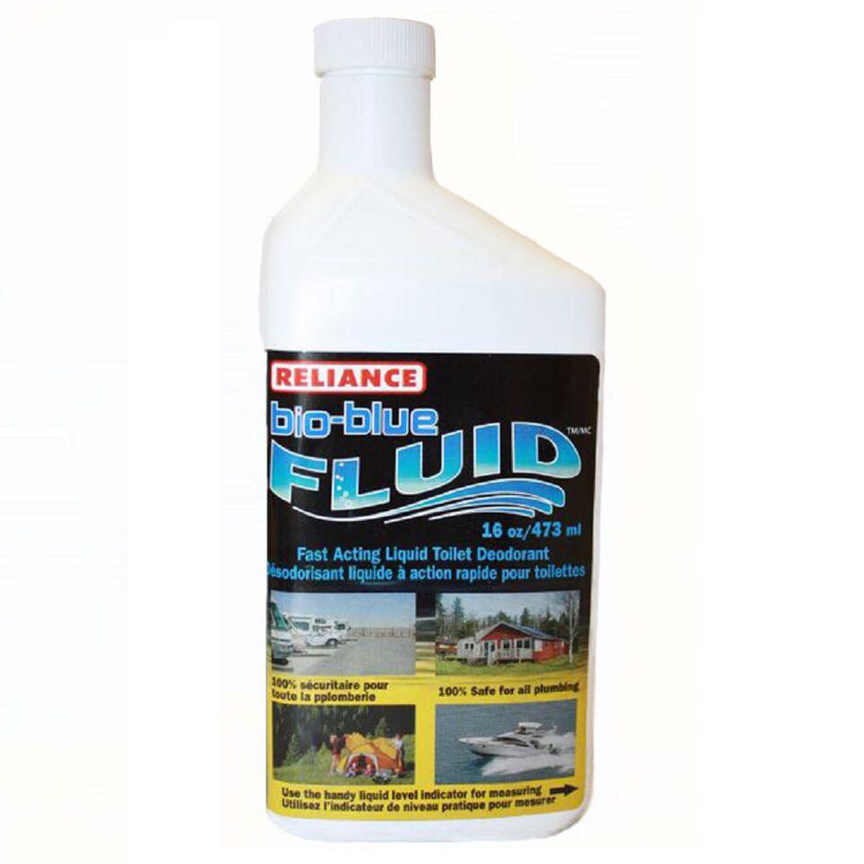Reliance Bio-Blue Fluid Liquid Toilet Deodorant