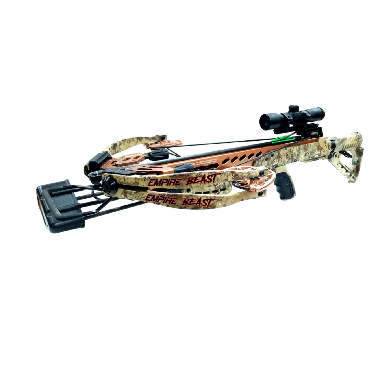 SA Sports Empire Beast 400 Reverse Cam Compound Crossbow PKG