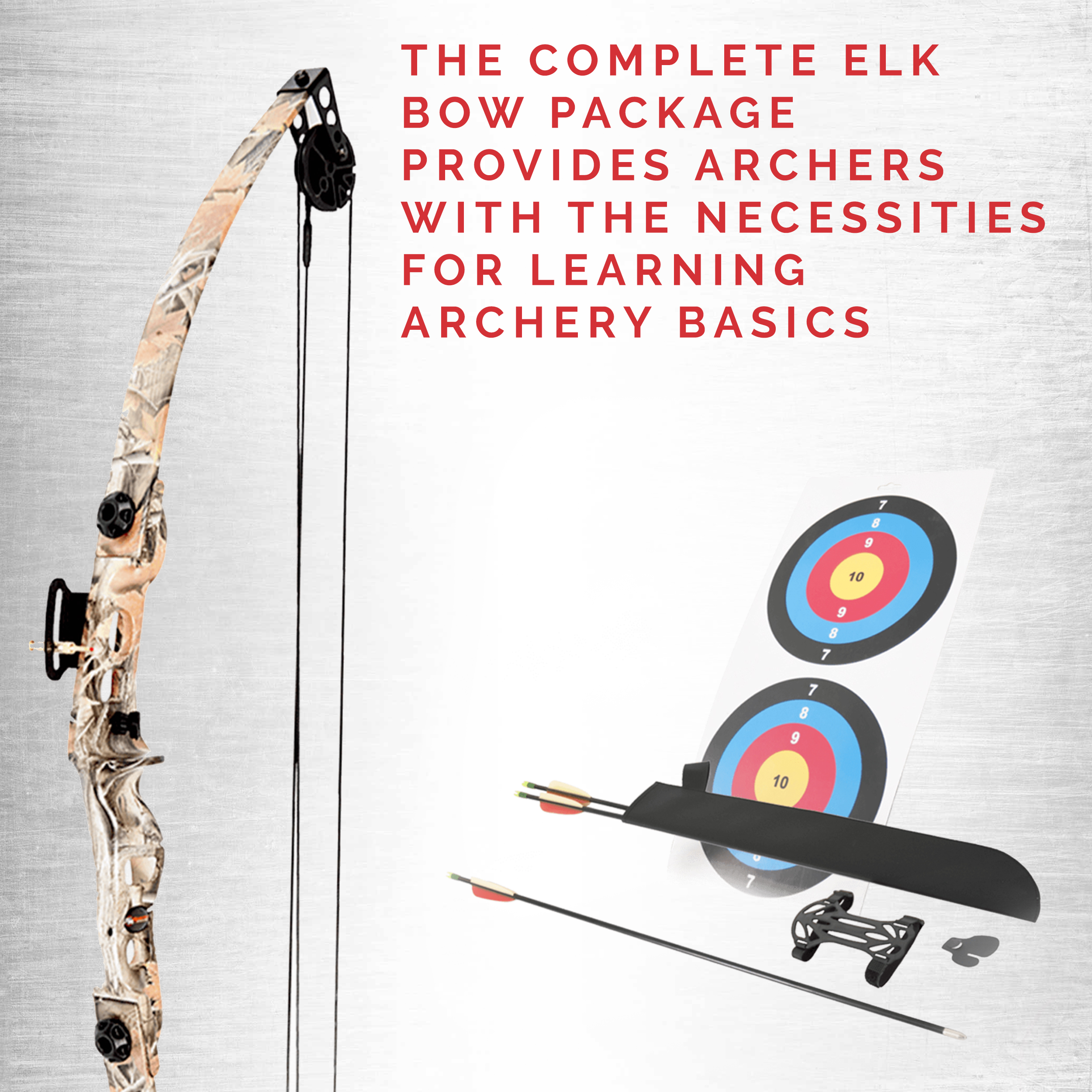 SA-Sports-Elk-Youth-Compound-Bow-Set-564-Right-Handed-Camo thumbnail 2