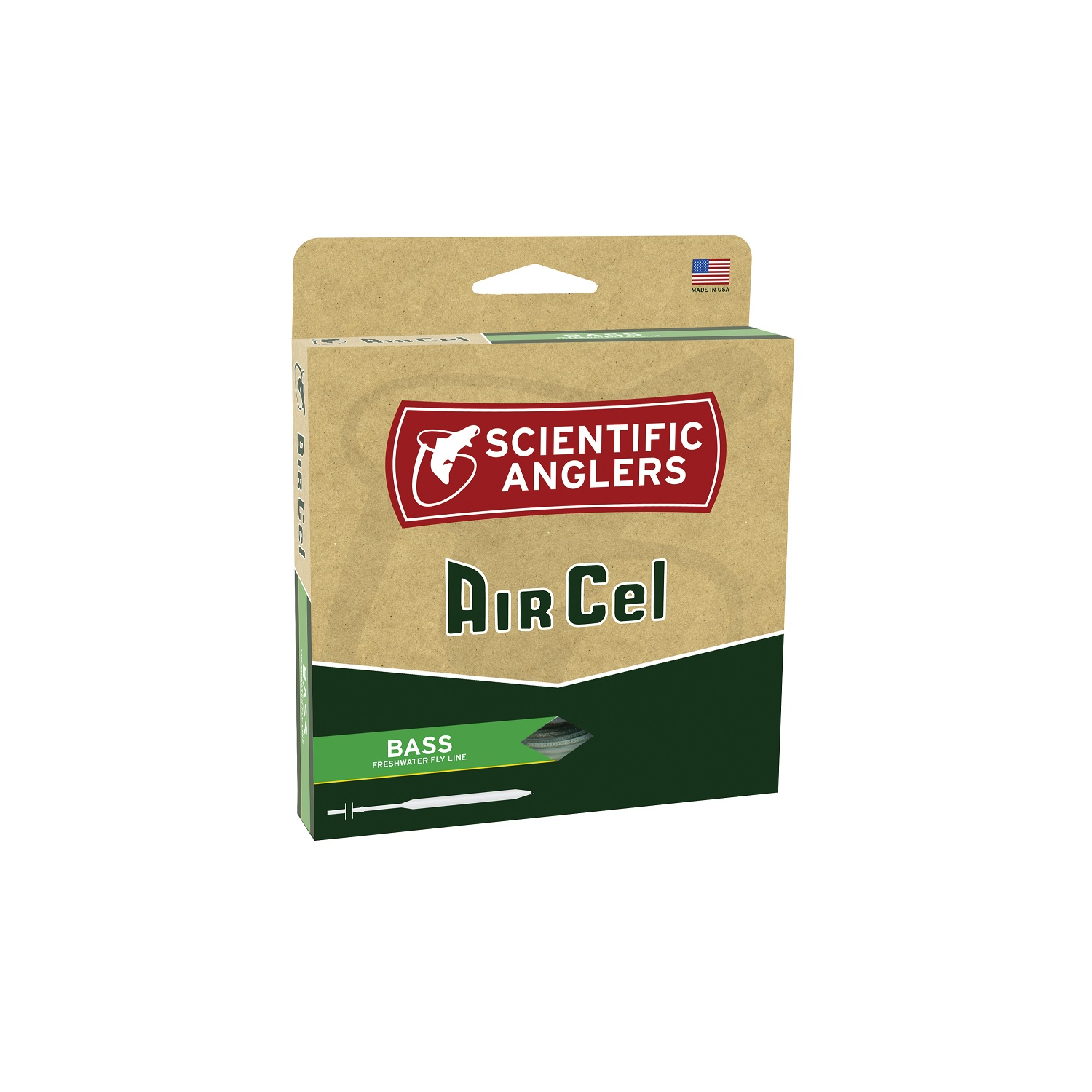 Scientific Anglers AirCel Floating Bass Fly Line-7 8-Yellow