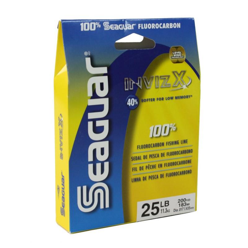 Seaguar Invizx 100  Fluoro 200yd 25lb