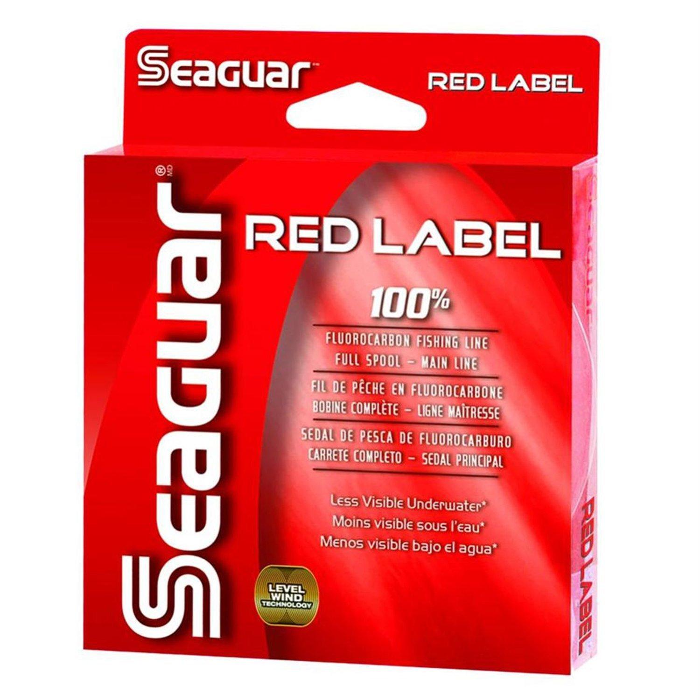 Seaguar Red Label 100 Pct Fluorocarbon  1000yd 6lb 6RM1000
