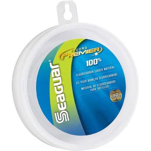 Seaguar Fluoro Premier 100  Fluorocarbon Leader 25 yds 40 lb