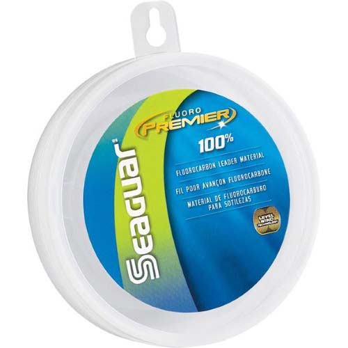 Seaguar Fluoro Premier 100  Fluorocarbon Leader 25 yds 60 lb