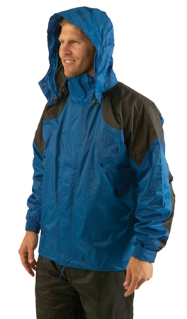 Texsport Amr. Clipper Deluxe Rain Jackets LG F.Green/Black