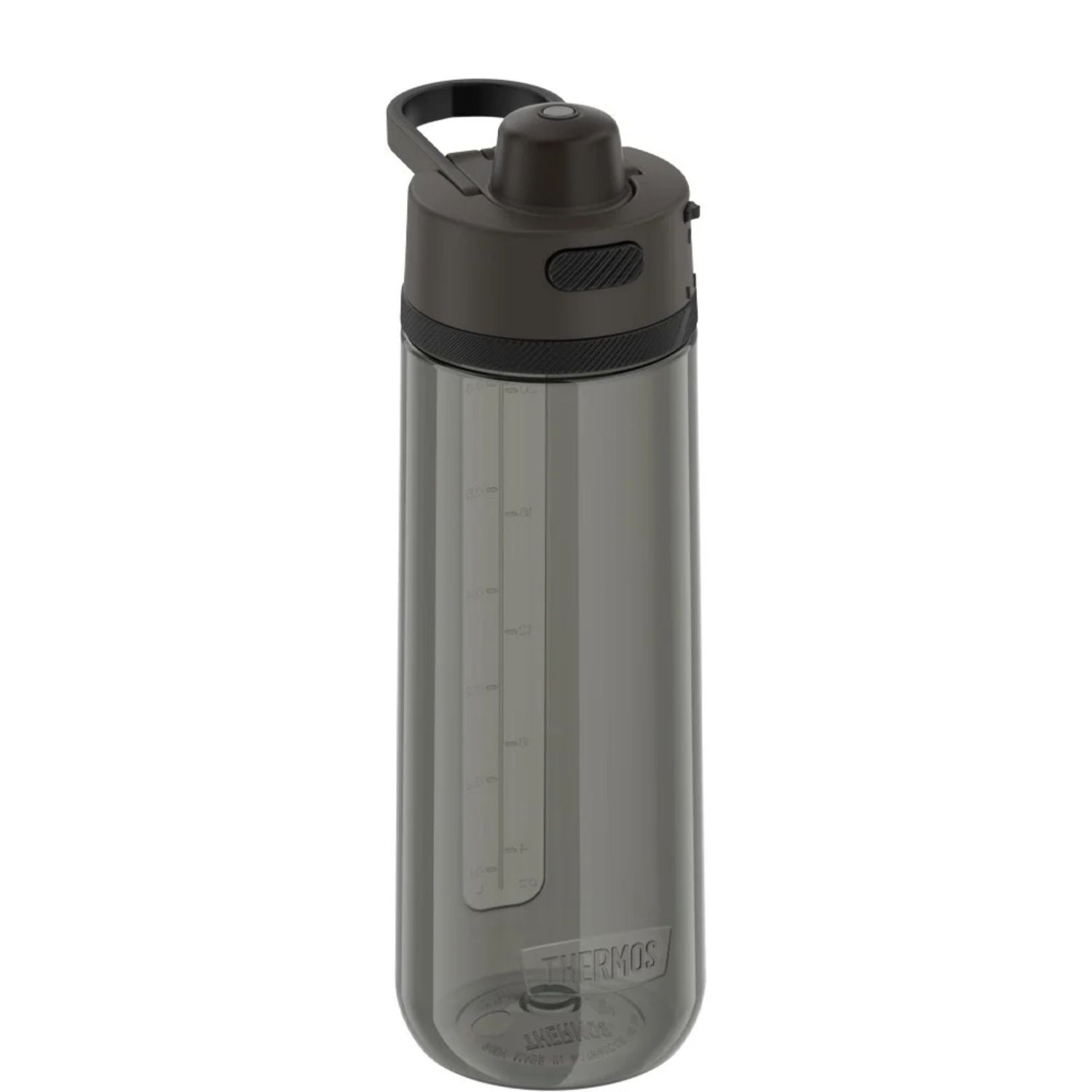 Thermos 24 oz Hard Plastic Hydration Bottle w Spout Black